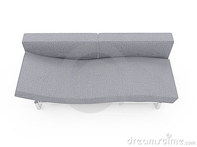 Sofa Over White Background Royalty Free Stock Images - Image: 9778399