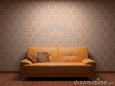 Sofa in rest room