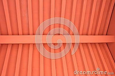 Soffitto di legno rosso fotografia stock immagine 43518658 for Soffitto della cattedrale di legno