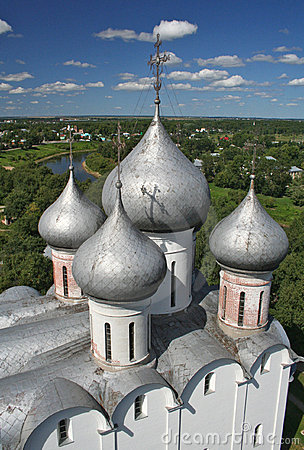 Free Sofia Cathedral In  Vologda Royalty Free Stock Photo - 5401875