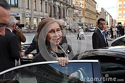 Sofia queen of Spain Editorial Photo