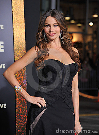 Sofia Vergara at the world premiere of her new movie New Year's Eve at