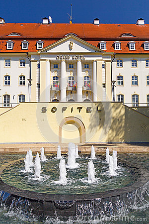 Sofitel Grand Hotel in Sopot, Poland Editorial Stock Photo