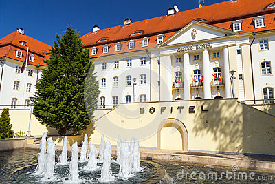 Sofitel Grand Hotel in Sopot, Poland Editorial Photo