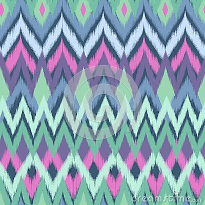 Free Soft Aqua Aztec Print Royalty Free Stock Photo - 33481735