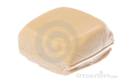 Soft Beancurd Isolated
