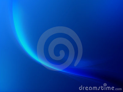 Soft blue abstract motion