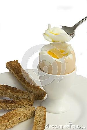 Soft boiled egg 2