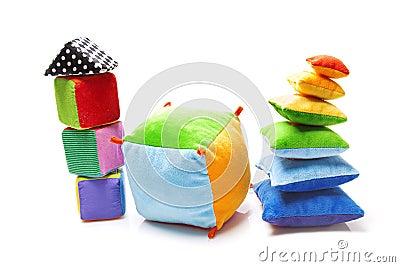 Soft color toys