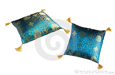 Soft decorated pillow