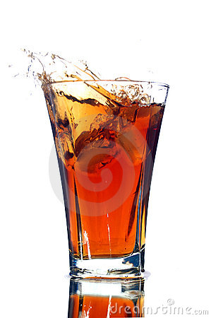 Free Soft Drink With A Splash Royalty Free Stock Photo - 6286905