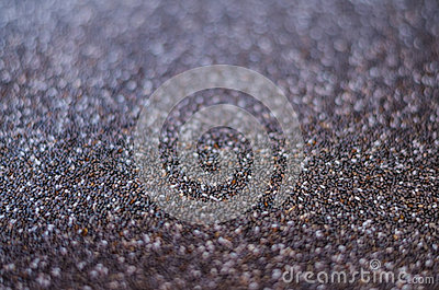 Soft focus Healthy Chia seed background