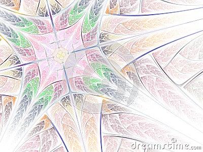 Soft fractal pattern