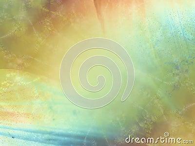 Soft Gold Green Blue Texture