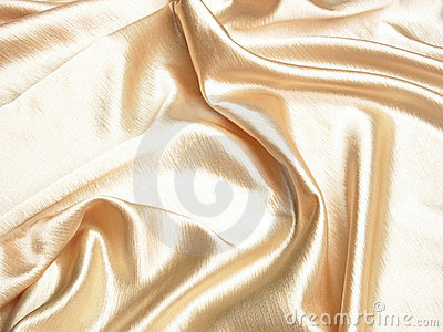 Soft gold satin back