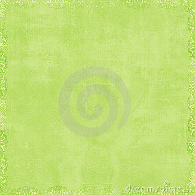 Free Soft Green Scrapbook Background Stock Image - 4565161