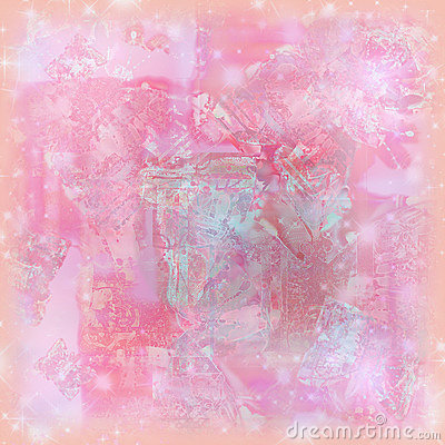 Free Soft Pastel Sparkle Watercolor Background For Art And Scrapbooking Royalty Free Stock Image - 779286