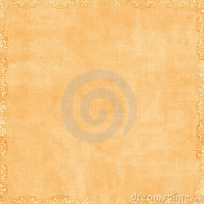 Free Soft Peach Orange Scrapbook Background Stock Photography - 4565152