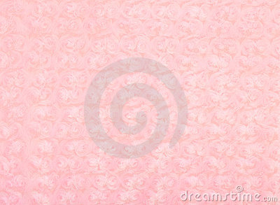 Soft pink blanket with roses