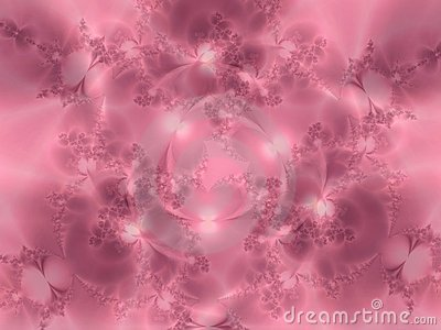 Soft Pink Flowery Texture