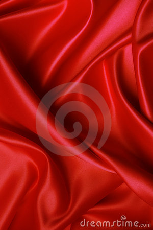 Free Soft Red Satin Royalty Free Stock Image - 2414956