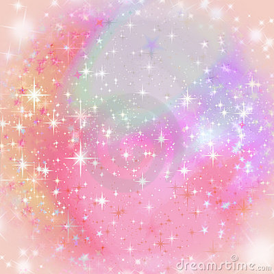Soft sparkling background