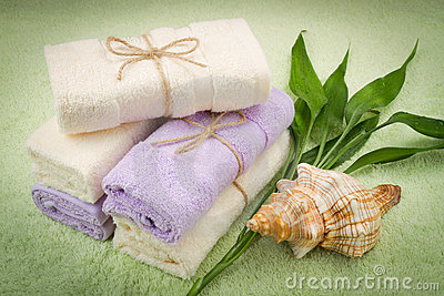 Soft towels from bamboo