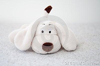 Soft toy dog