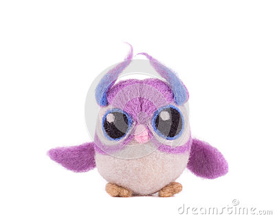 Soft toy owl.