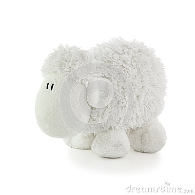 Soft Toy White Lamb