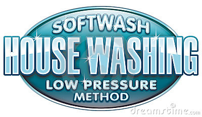 Soft Wash Low Pressure House Washing