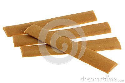 Soft Yummy Dog Treats strip, Liver flavor