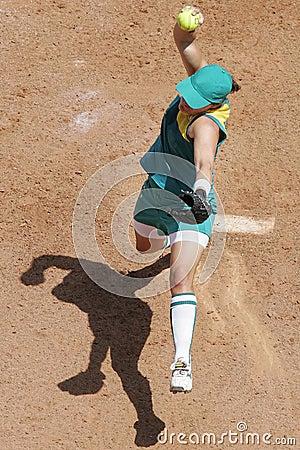 Softball overhead