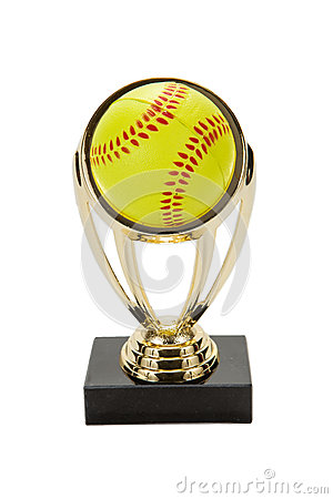Free Softball Trophy Royalty Free Stock Photos - 54724478