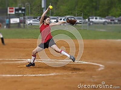 Softball windmill