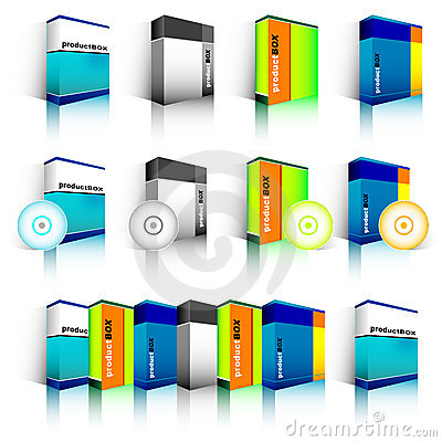 Free Software Box Royalty Free Stock Photography - 4524657