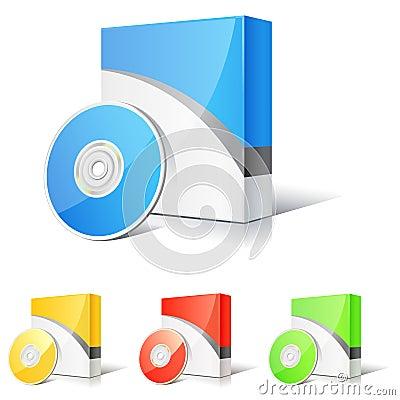 Free Software Box Royalty Free Stock Photos - 8900118