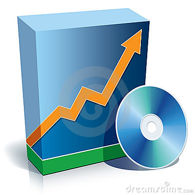 Free Software Box And CD Stock Image - 5837611