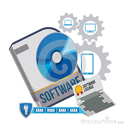 Software design stock vector image 58402807 Vector image software