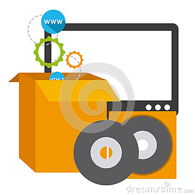 Software development stock vector image 59100364 Vector image software