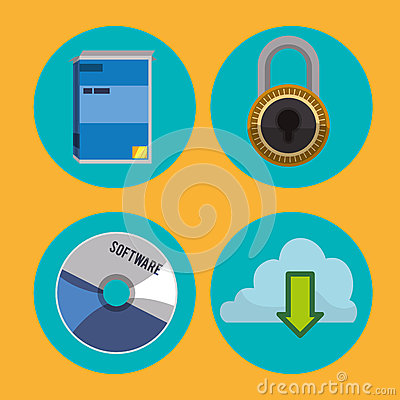 Software icons design stock vector image 62773079 Vector image software