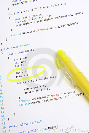 Software program code