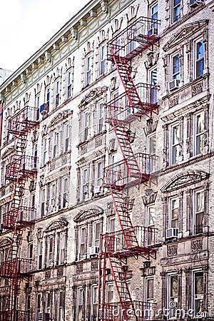 Free Soho Lofts & Apartments Stock Photos - 18485683