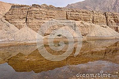 Soil cliff
