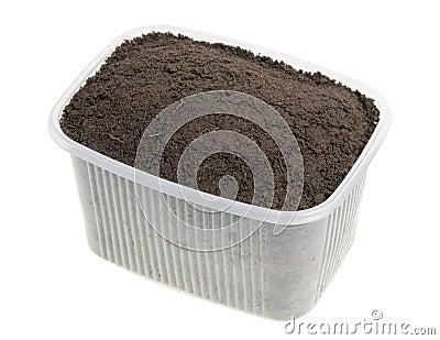 Soil compost  for landing