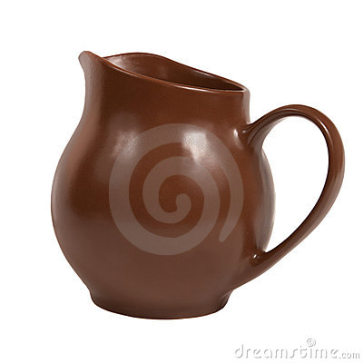 Słoju ceramiczny mleko