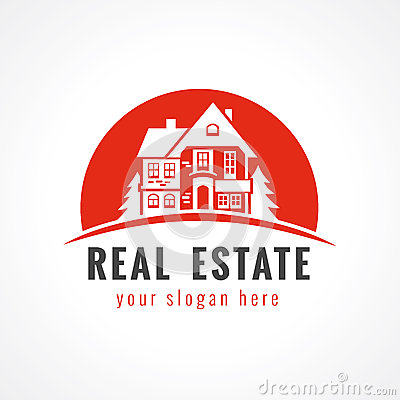 Logotipo de la cabaña stock de ilustración   imagen: 53591522