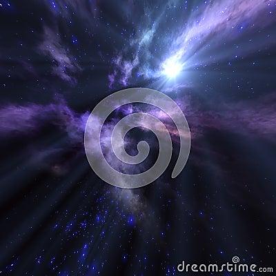 Sol del espacio