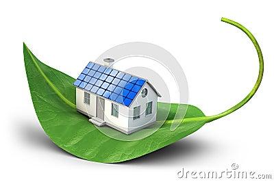 Solar cells house
