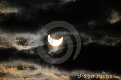Solar eclipse Editorial Stock Image